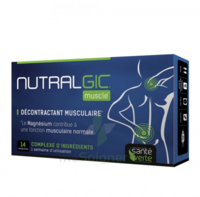 Nutralgic Muscle Comprimés décontractant musculaire B/14 à FLEURANCE
