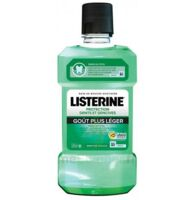Listerine Protection Dents Gencives Bain Bouche Goût Plus Léger Fl/500ml à FLEURANCE