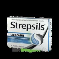 Strepsils lidocaïne Pastilles Plq/24 à FLEURANCE