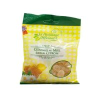 Le Pastillage Officinal Gomme miel citron Sachet/100g à FLEURANCE