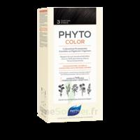 Phytocolor Kit Coloration Permanente 3 Châtain Foncé à FLEURANCE