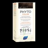 Phytocolor Kit Coloration Permanente 5.7 Châtain Clair Marron à FLEURANCE