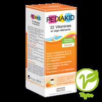 Pédiakid 22 Vitamines et Oligo-Eléments Sirop abricot orange 125ml à FLEURANCE