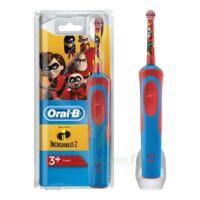 Oral B Incredibles 2 Brosse dents électrique enfant 3ans et+ à FLEURANCE