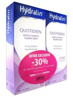 Hydralin Quotidien Gel Lavant Usage Intime 2*200ml à FLEURANCE