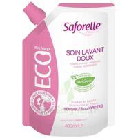 Saforelle Solution soin lavant doux Eco-recharge/400ml à FLEURANCE