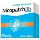 NICOPATCHLIB 14 mg/24 h Dispositifs transdermiques B/28 à FLEURANCE