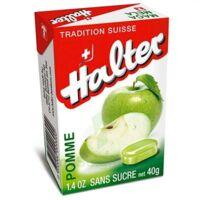 Halter sans sucre Bonbon pomme B/40g à FLEURANCE