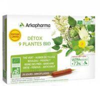 Arkofluide Bio Ultraextract Solution buvable détox 9 Plantes 20 Ampoules/10ml à FLEURANCE
