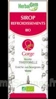 Herbalgem Sirop bio refroidissement 150ml à FLEURANCE