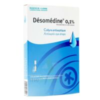 DESOMEDINE 0,1 % Collyre sol 10Fl/0,6ml à FLEURANCE