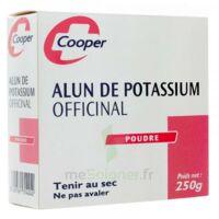 COOPER ALUN POTASSIUM Poudre B/250g à FLEURANCE