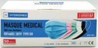 Masques Chirurgicaux Multicolor/50 Adulte à FLEURANCE