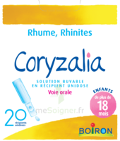 Boiron Coryzalia Solution buvable unidose B/20 à FLEURANCE