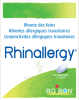 Boiron Rhinallergy Comprimés B/40 à FLEURANCE