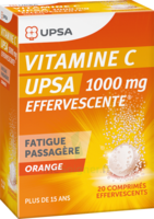 Vitamine C Upsa Effervescente 1000 Mg, Comprimé Effervescent à FLEURANCE