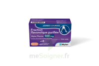 FRACTION FLAVONOIQUE MYLAN PHARMA 500MG, comprimés à FLEURANCE